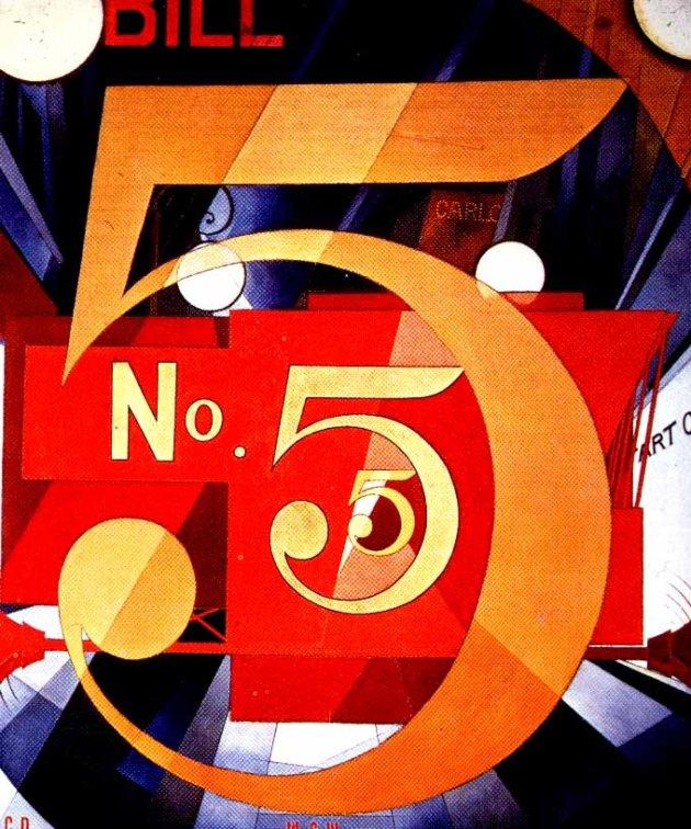 CharlesDemuth-I-Saw-the-Figure-5-in-Gold-1928