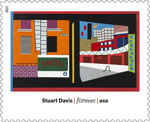 Stuart-Davis-USPS-art-in-America-stamp